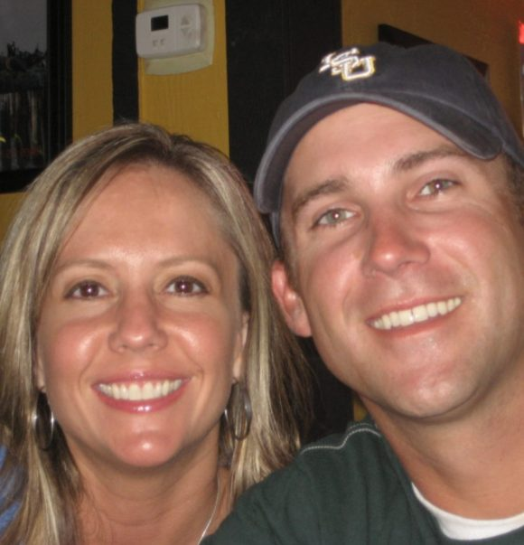 Dr. Melissa Traxler and husband Chad