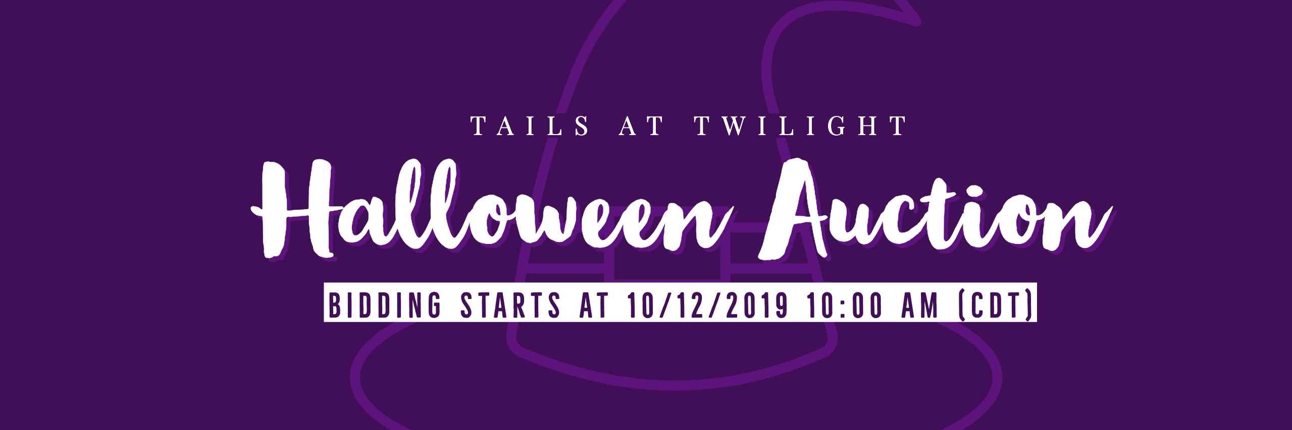 Tails at Twilight Halloween Auction